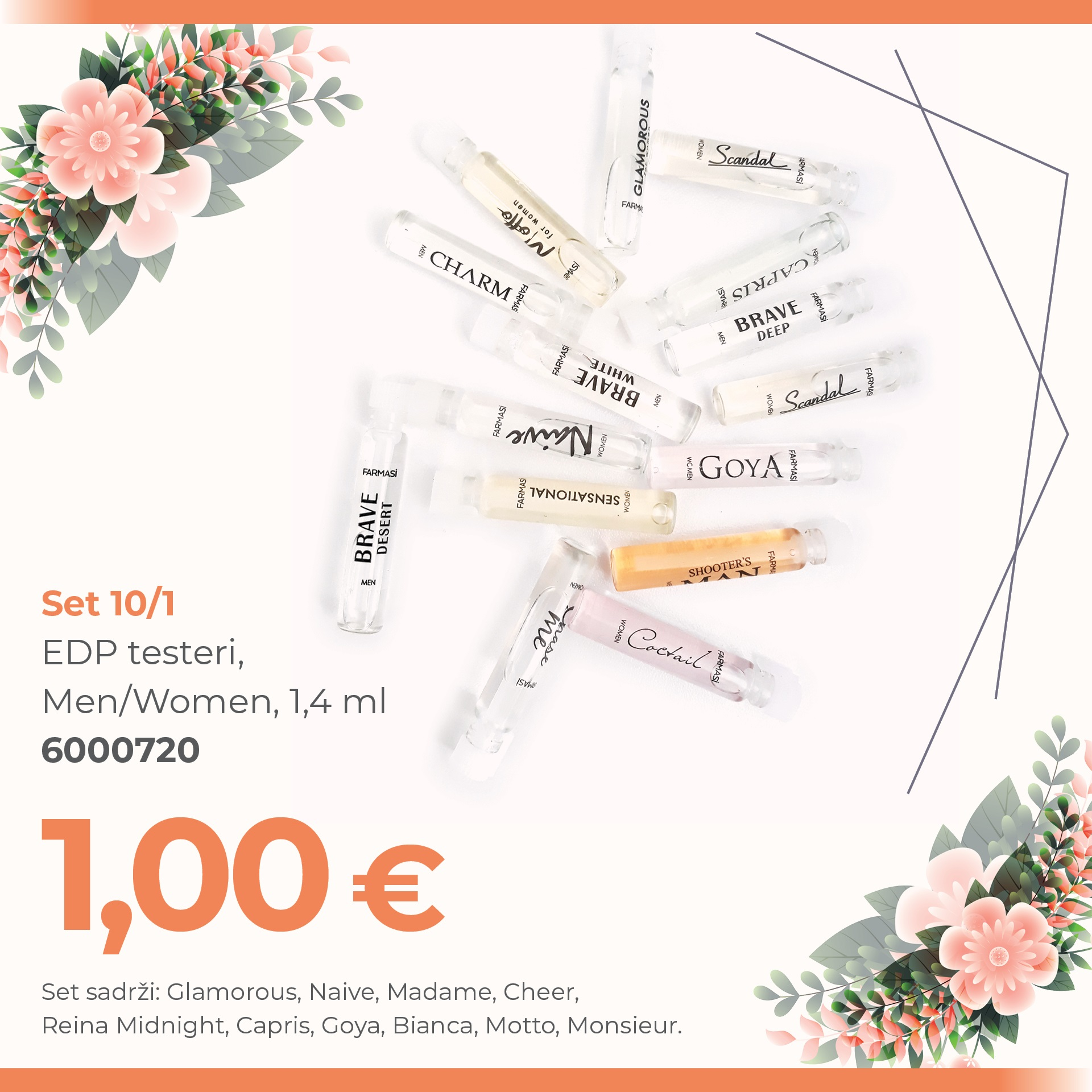 CG EDP TESTERI SET 10 1